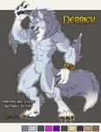 Derrick Adoptable Werewolf  SOLD