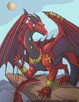 Egyptian Dragon for NekoAdderstein by lady-cybercat