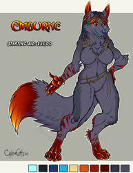 Adoptable Vixen Emburne Starting bid $35 open