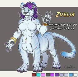 Zuelia Adoptable Cat-Taur Sale: $55.
