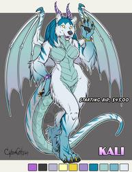 Kali Adoptable Dracowolf Starting Bid $45 Open