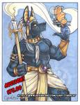 Mystic Anubis Auction Starting Bid $75.00 by lady-cybercat