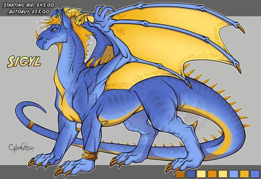 Sigyl Adoptable Dragon SOLD