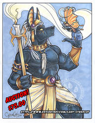 Anubis Original Art Auction !