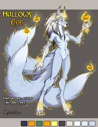 Hallows Eve Adoptable Kitsune SOLD!