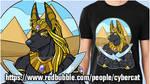 Anubis T Shirt Design by lady-cybercat