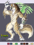 Adoptable Werewolf Tyren SOLD
