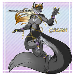 Character Adopt Carina Starting Bid $55 SOLD