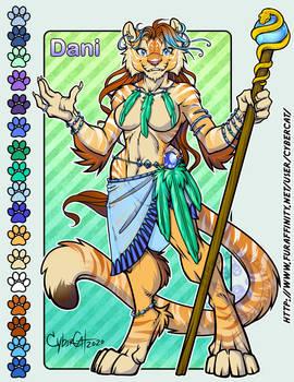 Tiger Adopt Dani SOLD