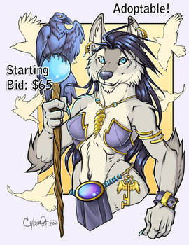 Mistress of Ravens Adoptable SOLD