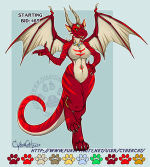 Dragoness Adoptable SOLD