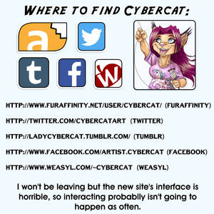 Where to Find Cybercat Art !!