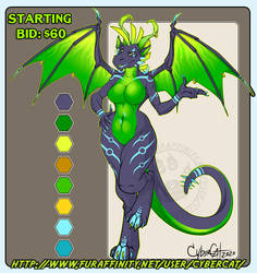 CyberDragon Adoptable SOLD