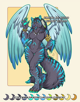Cyberwolf Adoptable  Auction Ends Tonight!
