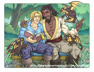 Anduin and  Wrathion