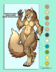 September Wolf Adoptable SOLD