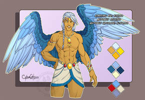 Winged ArchMage   Adoptable AUCTION ENDS SUNDAY!