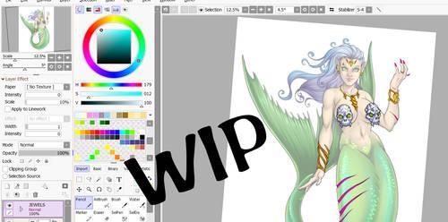 Mermaid Adopt Work In Progress