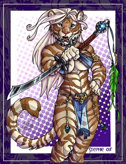 Golden Tigress by lady-cybercat