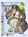 Mega Timber Wolf Adoptable  SOLD