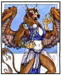Griffin Sorceress