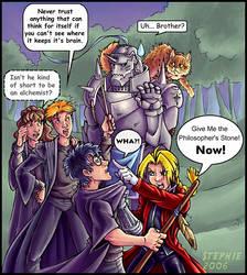Harry Vs Fullmetal Alchemist by lady-cybercat