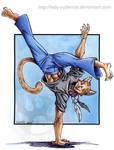Capoeira Teracat commission