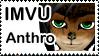 Male IMVU Anthro Stamp by lady-cybercat