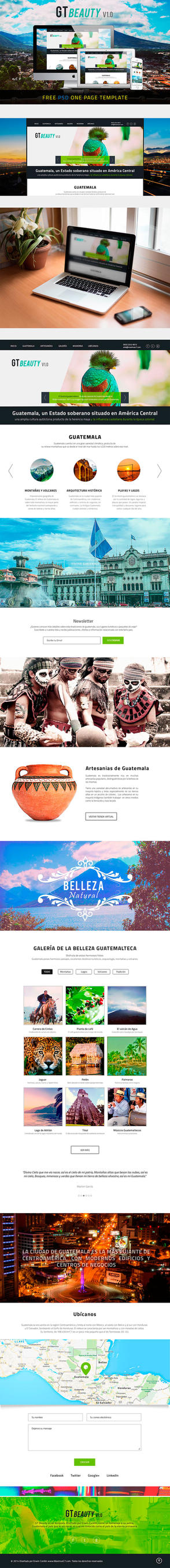GT Beauty v1.0 | Free one page template by MaximusC7