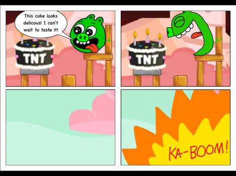 The Explosive Cake