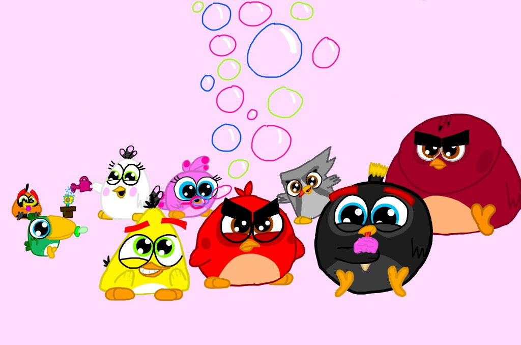Angry Birds As Hatchlings By Angrybirdsandmixels1 On Deviantart