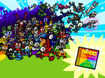 Happy 3rd Anniversary Mixels! (+200w Special)