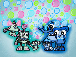 Bubbles For the Babies by AngryBirdsandMixels1