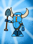 Sir Gary the Shovel Knight by AngryBirdsandMixels1