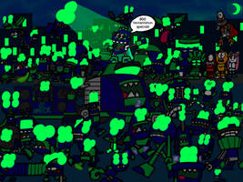 Alienoid Invasion (800th Deviantation Special) by AngryBirdsandMixels1