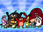 Happy Birds by AngryBirdsandMixels1