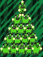 O Piggy Tree by AngryBirdsandMixels1