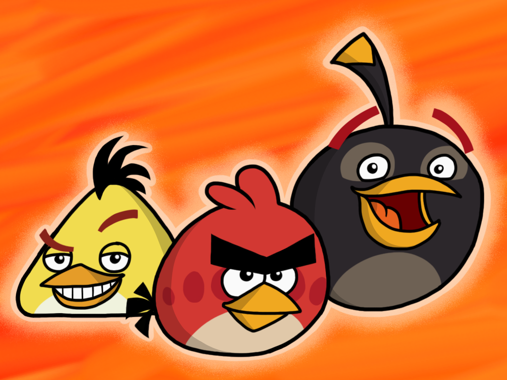 Angry birds collection favourites by primon4723 on deviantart - Angry birds trio ...
