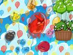 Balloon Birds by AngryBirdsandMixels1