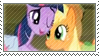 Stamp - Applejack and Twilight by CodTier