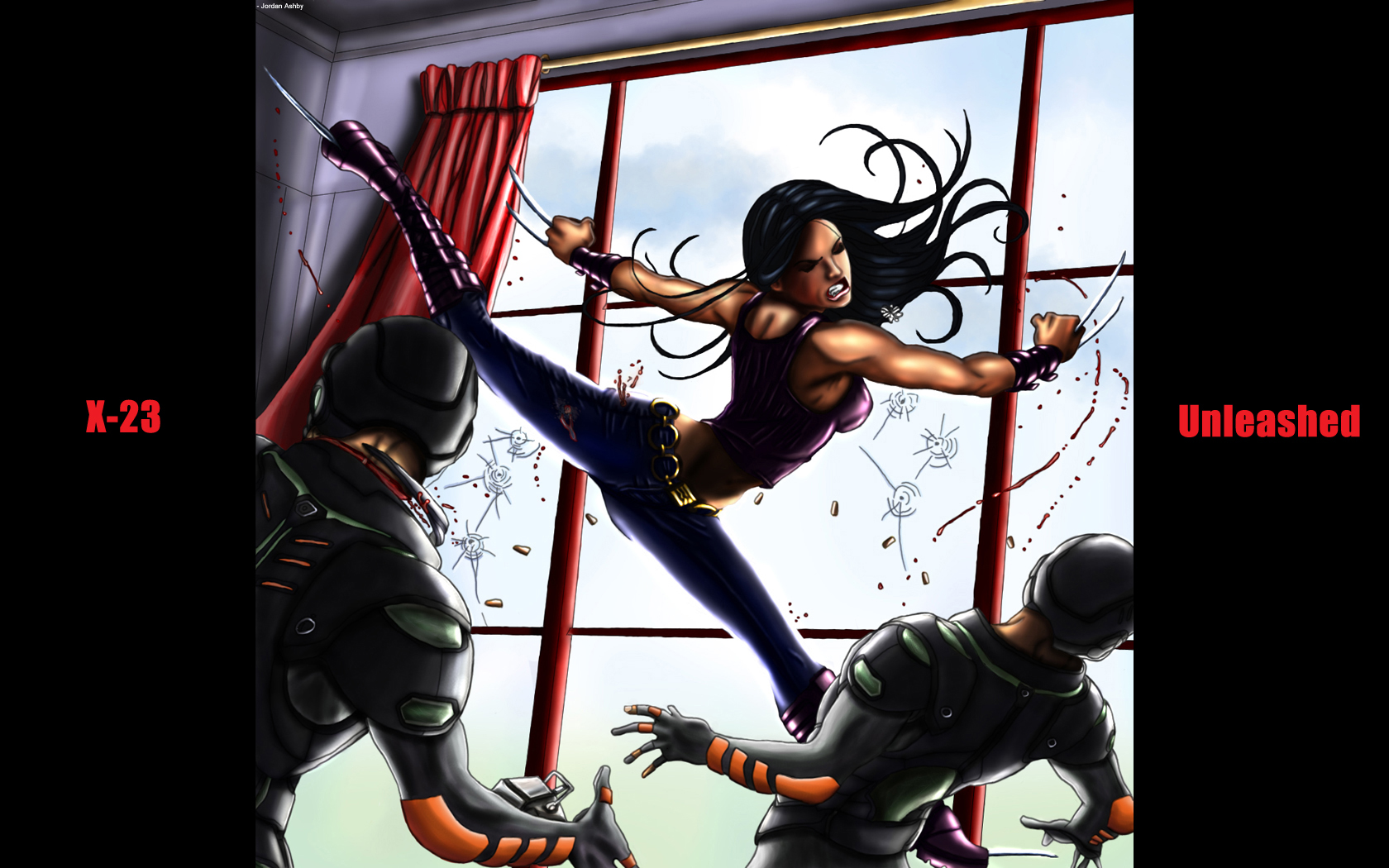 23 unleashed wal...X 23 Wallpaper