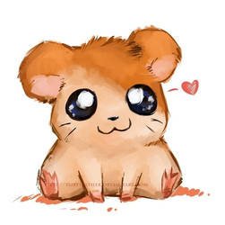 Hamtaro by RubyFeather