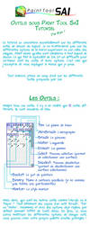 Tutorial - Outils sous Paint Tool Sai [French] by RubyFeather