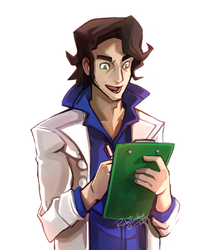 Professor Sycamore by RubyFeather