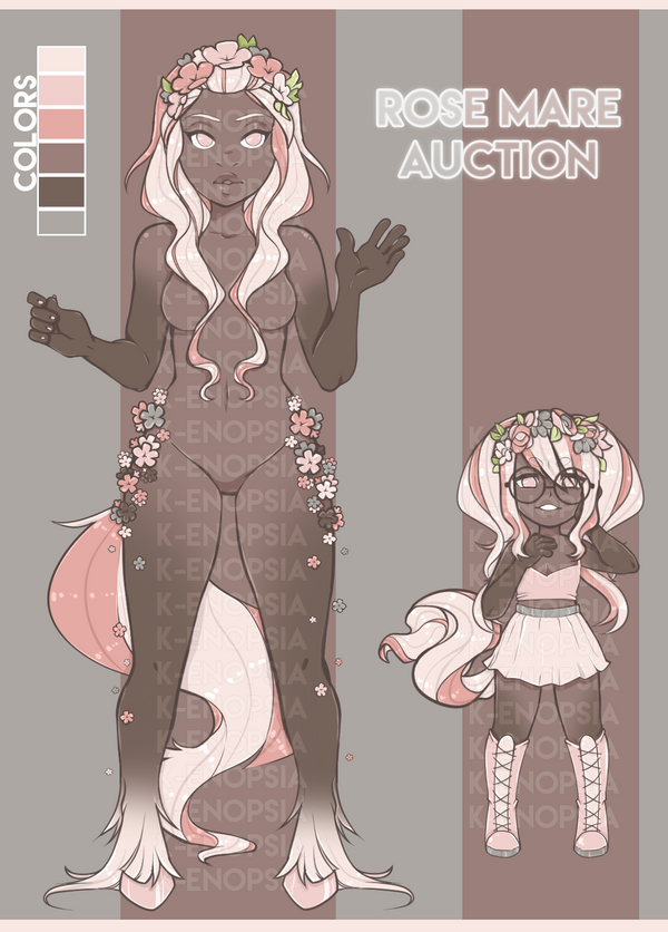 Rose Mare {Adopt Auction : CLOSED } by K-enopsia