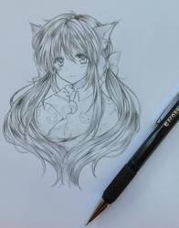 neko sketch 2