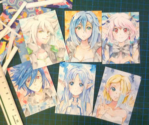 Cut out ACEO cards