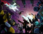 MW Thundercracker vs. Megatron