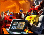 Grimlock and the Technobots