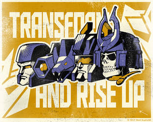 Decepticon Commanders by MattDrawsRobots